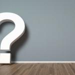 Fragetypen - großes Fragezeichen