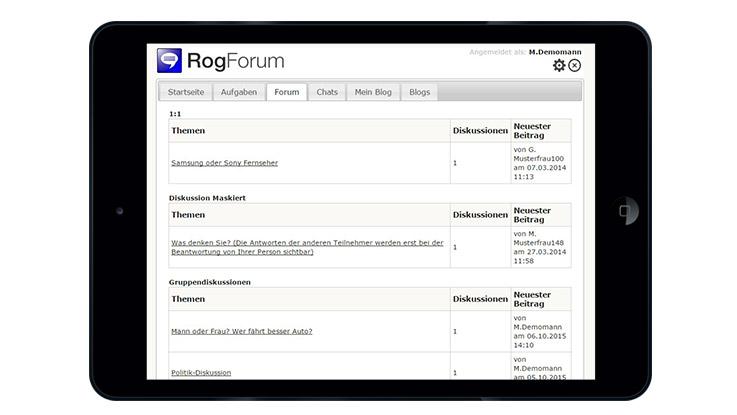 Panelsoftware RogForum Sl1 2