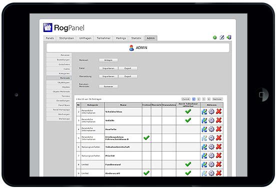 Panelsoftware RogPanel Admin