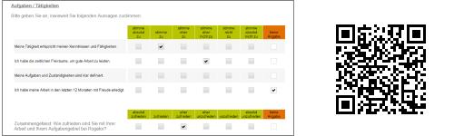 QR Code Screenshot Beispiel Befragung Mitarbeiterzufriedenheit
