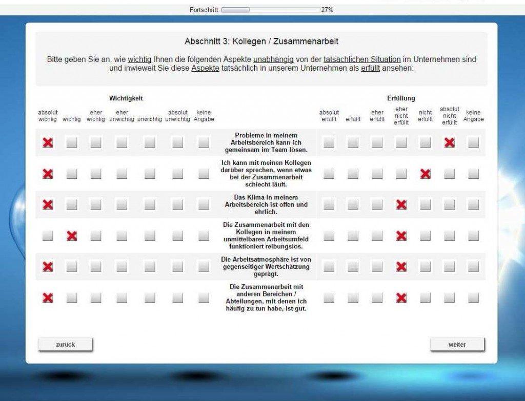 vorlage mitarbeiterfragebogen - Mitarbeiterbefragung Muster