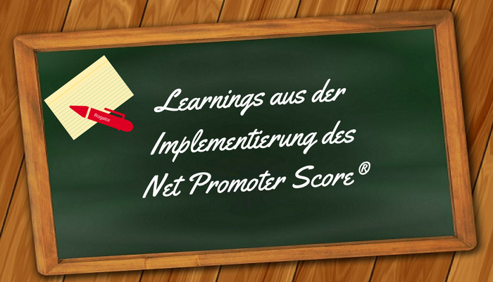 Learnings Net Promoter Score