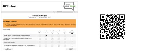 QR Code Screenshot Beispiel Befragung Fuehrungskraeftefeedback