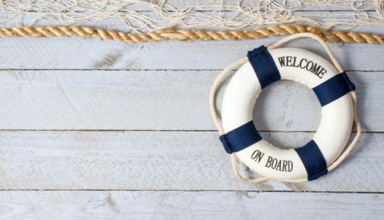 Onboarding Prozess Rettungsring