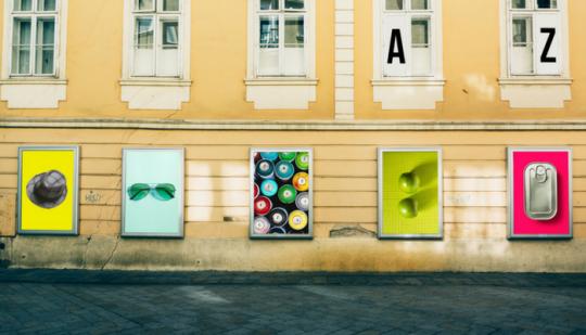 Individuelle Marktforschung Werbewirkung Messen Häuserwand