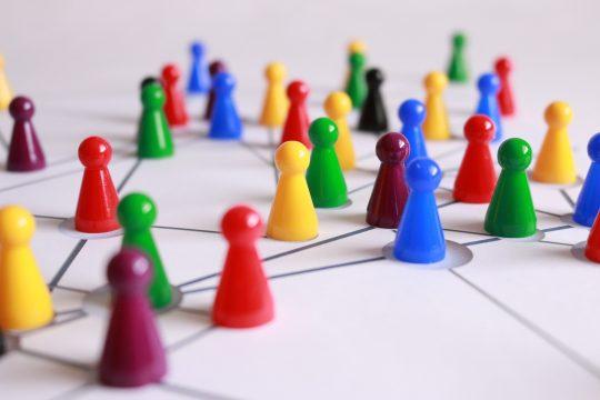 Panelmigration Brettspielfiguren