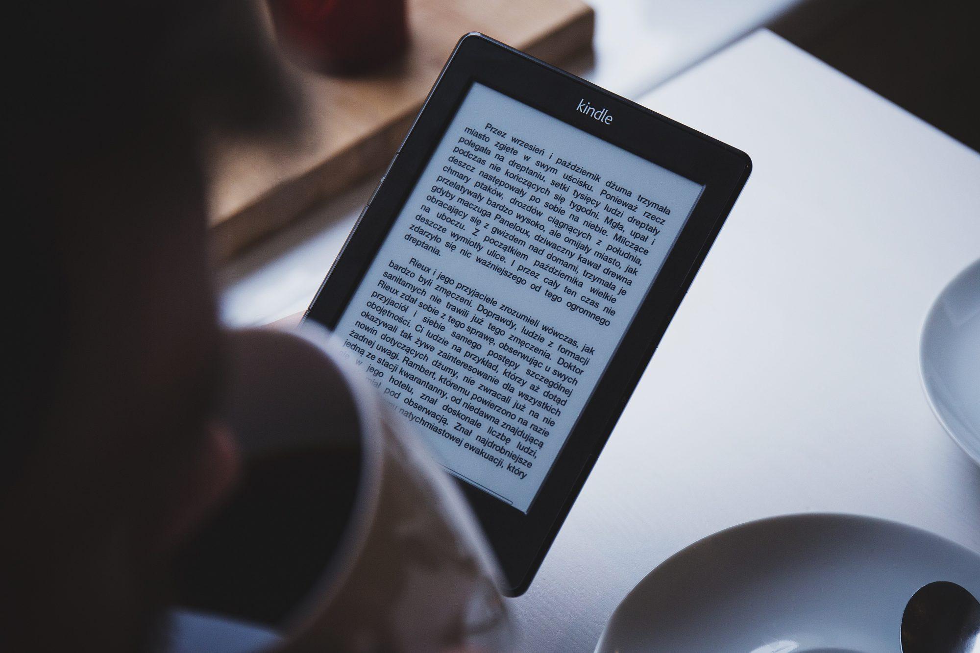 Lesen mit kindle