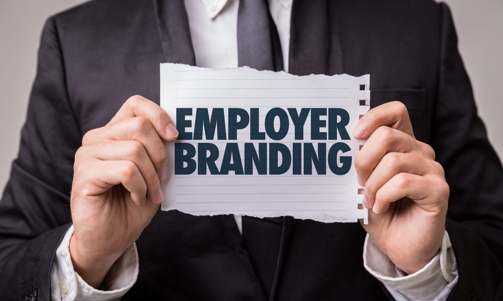 Employer Branding Person mit Employee Branding