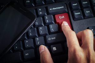 Exit-Befragungen Tastatur