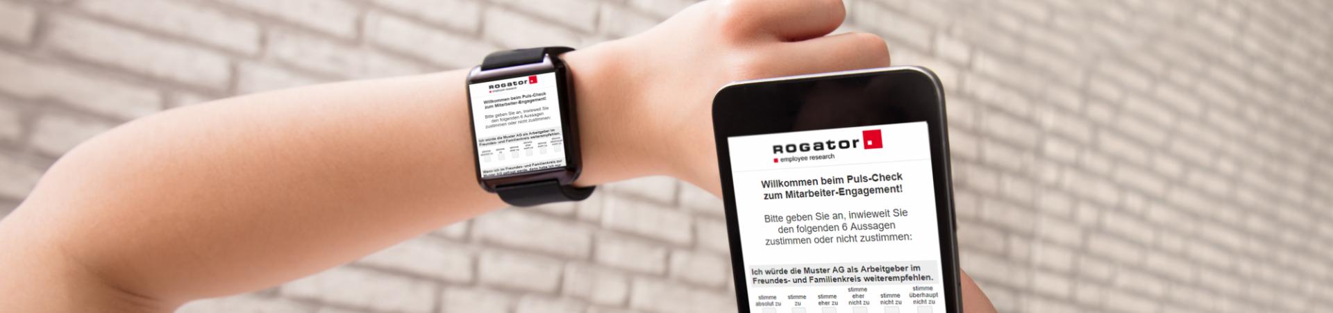 Rog Puls-Befragung 2 Smartwatch und Smartphone