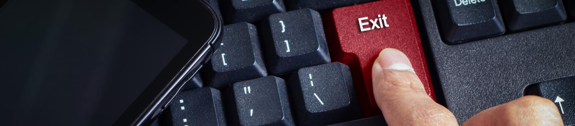 Exit Befragungen Tastatur