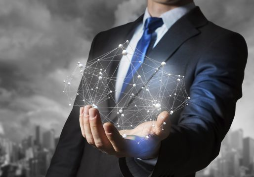 Schnittstellenanbindung Person Netzwerk