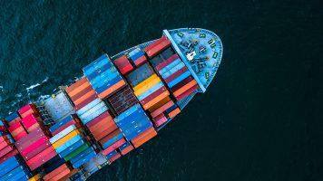 360-Grad-Feedback Containerschiff