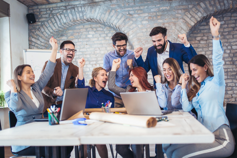 Themenfokussierte Mitarbeiterbefragung Erfolgreiche Geschäftsleute