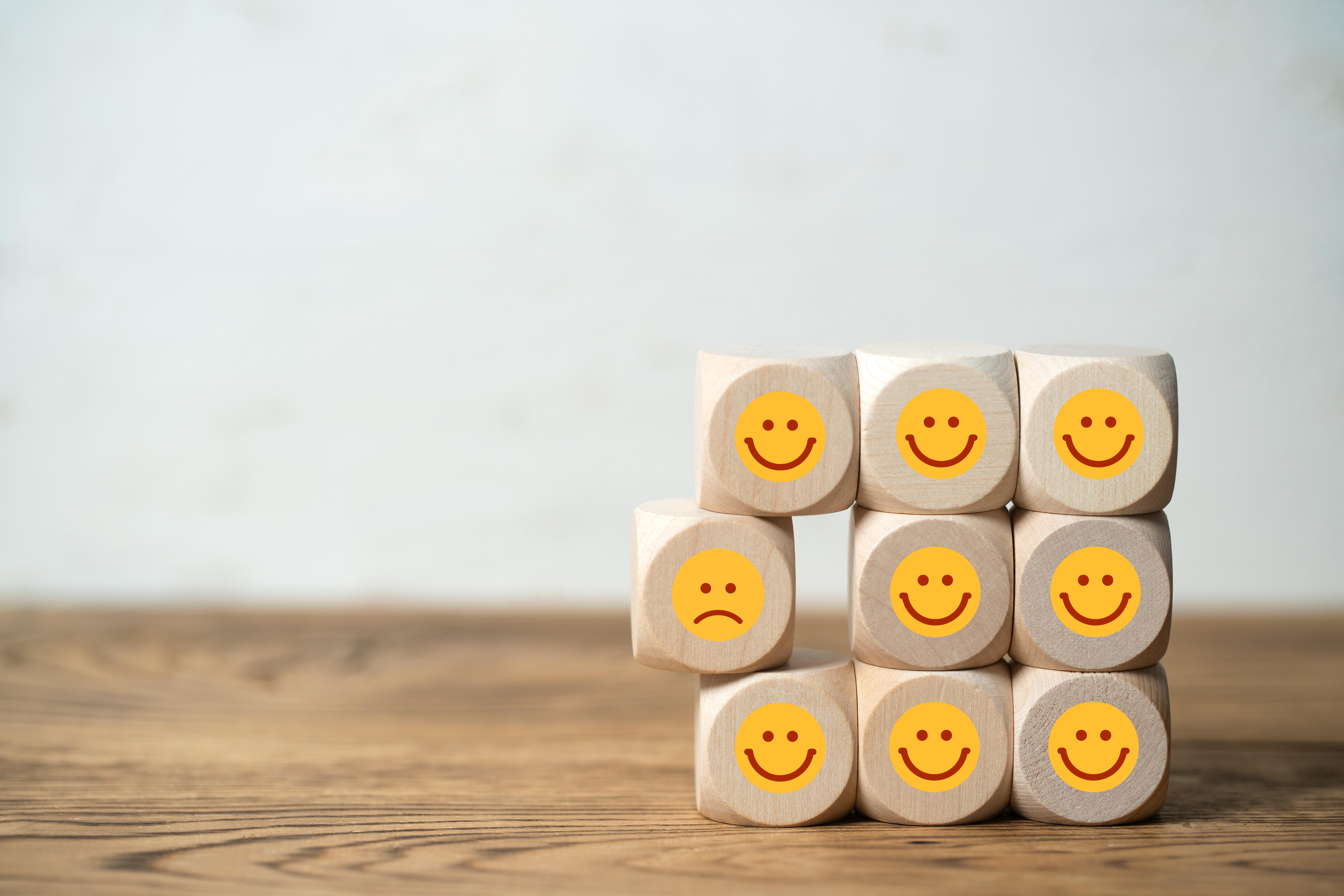 Wuerfel mit Smiley