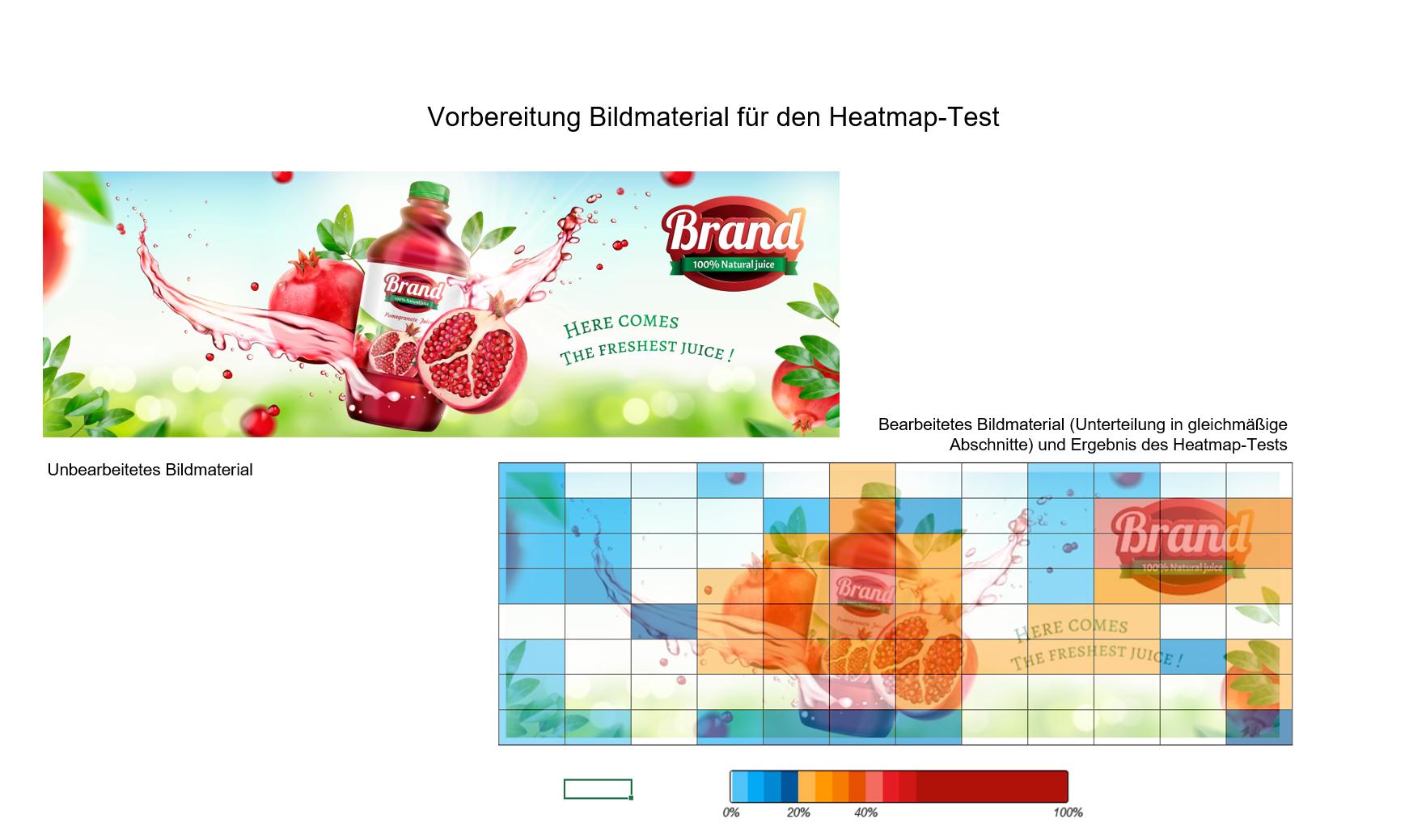 Vorbereitung Bildmaterial Heatmap-Test