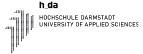 Logo Hochschule Darmstadt