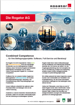 Factsheet Rogator AG Überblick