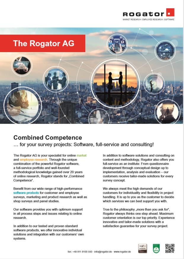 erste Seite Factsheet Rogator AG english