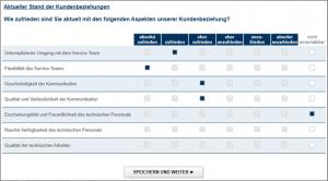 Abb. 1 Case Study Kundenfeedback mit Net Promoter Score®