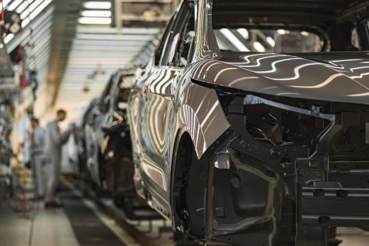 Automobilindustrie Fließband MAB