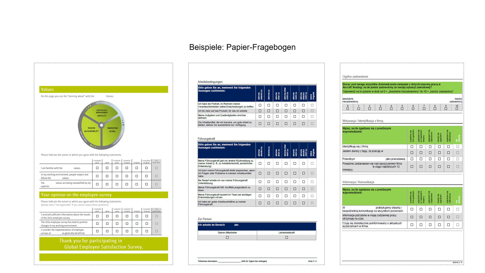 MAB Industrie_Beispiele Papier-Fragebogen
