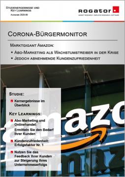 Titelblatt Magazin Corona-Bürgermonitor