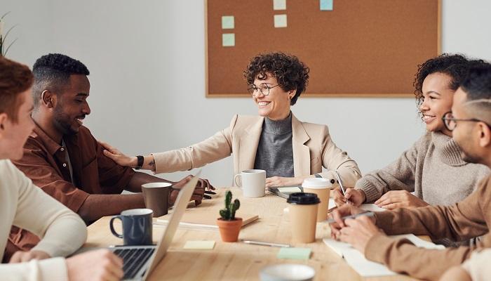 Team-Meeting Employer Branding