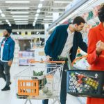 Personen im Supermarkt Ethnografie