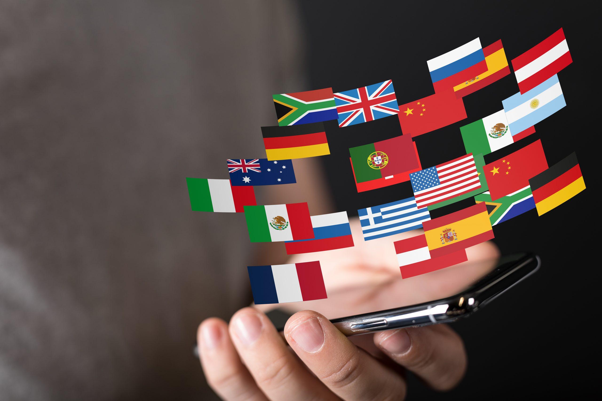 Sprache auf dem Handy auswählen