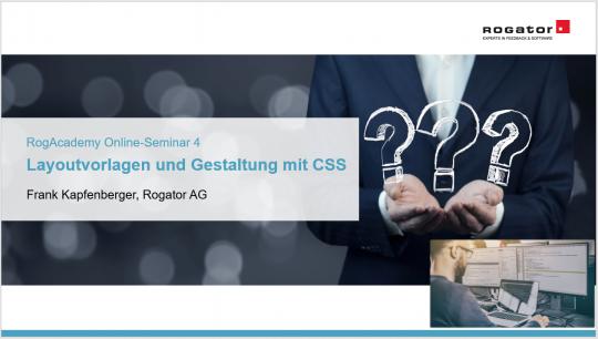 Titelbild RogAcademy CSS