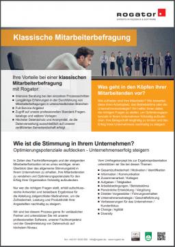 Factsheet Mitarbeiterbefragung DE